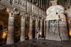 Interesting #AjantaCaves in #Aurangabad