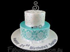 ideas for birthday cake women sweet 16 Elegant Birthday Cakes, 21st Birthday Cake For Girls, Adult Birthday Cakes, Cool Birthday Cakes, 90th Birthday, Birthday Ideas, Birthday Parties, Sweet 16, 40th Cake