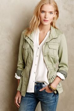 Chambray Anorak - anthropologie.com WANT
