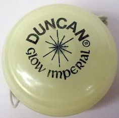 Duncan glow in the dark yo-yo (more fun facts about yo-yos at my blog!)