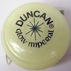Duncan glow in the dark yo-yo (more fun facts about yo-yos at my blog!)