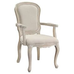 Accent Chair Ivory - Christopher Knight Home