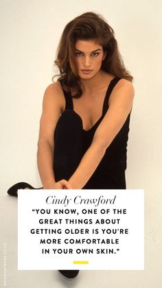 Want some incredible life advice from one of the world's biggest models? Enter Cindy Crawford and 10 quotes that'll do the trick.