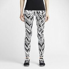 Nike Womens Legendary Freeze Frame Tight Fit Training Pants M WhiteBlack * More info could be found at the image url.(This is an Amazon affiliate link)
