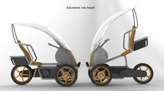 The City Speeder is a three wheel bicycle that provides optimal safety and protection from wind and rain. The riding position is easily adjustable and the ...