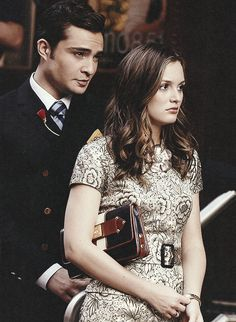 Chuck and Blair... Best tv couple <3