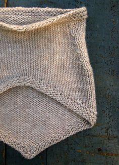 reverse of bandana/knit