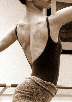 ballet back.
