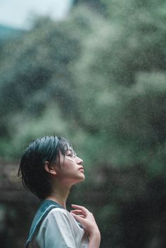 """""""I love the smell of rain. Angel Aesthetic, Aesthetic People, Korean Aesthetic, Hole In My Soul, Q Photo, Smell Of Rain, Japanese Photography, Beautiful Japanese Girl, Japan Girl"""
