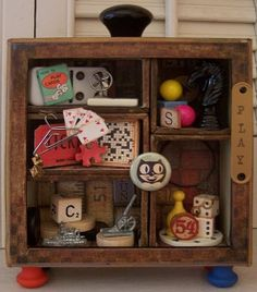 shadowbox - game pieces - love it!