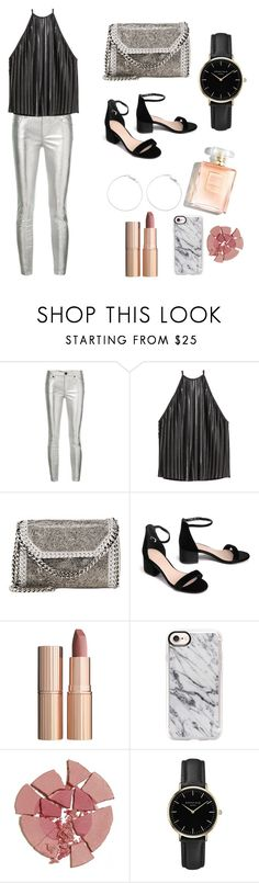 """Club outfit"" by olisa-cekaj ❤ liked on Polyvore featuring RtA, H&M, STELLA McCARTNEY, Charlotte Tilbury, Casetify and ROSEFIELD"