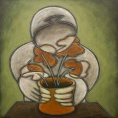 Green Fingers Duffy, Fingers, Green, Artist, Painting, Artists, Painting Art, Paintings, Painted Canvas