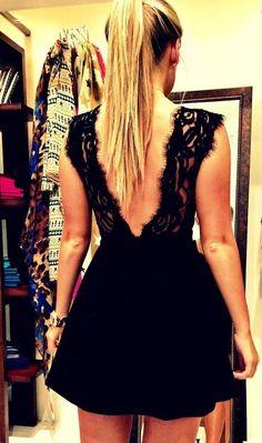 Dress- love the back