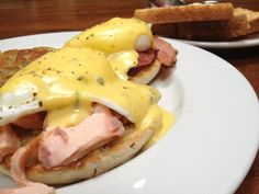 Try our Eggs Benedict with Fresh Smoked Salmon In Seal Beach.