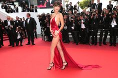 Pin for Later: You Won't Believe What Bella Hadid Was Wearing Under Her Sexy Cannes Dress