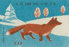 Polish matchbox label from the 1960s.