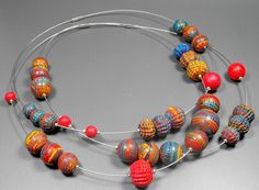 Three Necklaces - IPCA Exhinition Baltimore | Polymer Clay N… | Flickr
