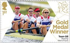 Pete Reed, Andy Triggs Hodge, Tom James & Alex Gregory Rowing Men's Fours