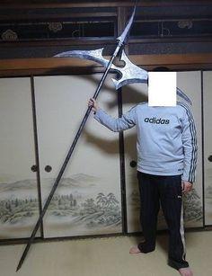 FFType-0 Scythe's weapon - final fantasy