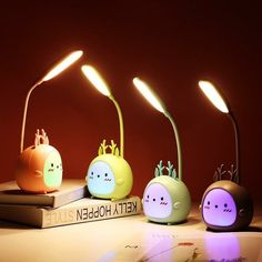 Get awesome stationery and gifts by visiting link in bio or go to www.otrioshop.com 💖 Free shipping to all countries! ✉️ For credit/copyright issue, please email us 🌈 #stationery #desklamp #lamp #kawaiistuff #kawaiilife #kawaiilifestyle Usb, Led Desk Lamp, Table Lamp, Bedroom Night Light, Desk Accessories, Aliexpress, Save Energy, Led Lamp, Bucket Lists