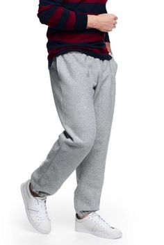 Men's+Original+Serious+Sweats+from+Lands'+End **Gray, red, or navy, size L