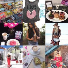 Our #2015bestnine features a fun mix of donuts, avocado toast, fashion bloggers, celebs, editorial press and...did we mention donuts? Happy New Year!