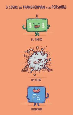 Tres cosas que transforman las personas.