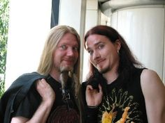 Young Marco and Tuomas
