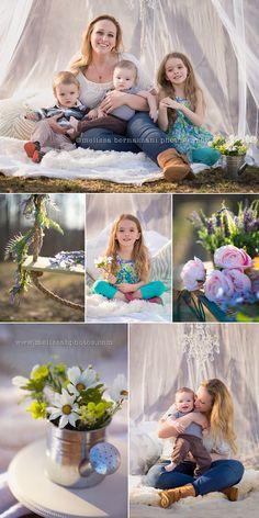 Fun, Creative Portraits by Melissa Bernazzani Photography  Traverse City, Michigan Photographer, specializing in Portraits & Wedding Photography http://www.melissabphotos.com #portraits #kidsportraits #photoshootideas #stylizedphotosession #cuteness #mommyandme #mothersday #springtime #familyphotos