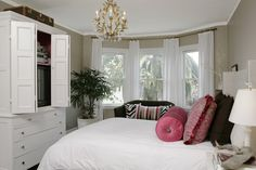 Cow Hollow Residence - traditional - bedroom - san francisco - by Amoroso Design