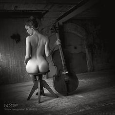 naked cello - Pinned by Mak Khalaf thank you very much to my awesome model - Catalea Fine Art artartofdanavailablelightonlybeautifulbeautybodycelloemotionseroticeroticartfeelingsfemalehairlightmodelnakednudenudeartprettysensual by Artofdan