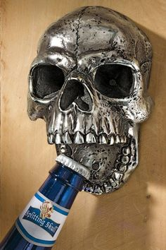 Design Toscano Gothic Skeleton Bottle Opener