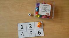 bingo met getalbeelden en cijfers Bingo, Preschool Math, Kindergarten, Elementary Spanish, Busy Boxes, Math Numbers, Numeracy, Pre School, First Grade