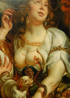"""Death of Cleopatra"" 1653 Artist: Jacob Jordaens (1593-1678 Flemish) Oil on canvas"
