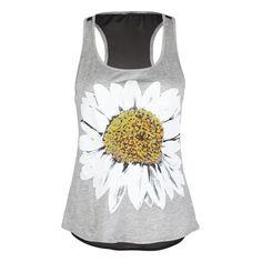 FULL TILT Daisy Womens Tank ($9.97) ❤ liked on Polyvore