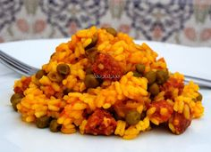 Asopaipas. Recetas de Cocina Casera .: Arroz con Chorizo