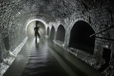 London's Underground River~ by sub-urban.com, via Flickr ~ Below the ground there is a remarkable network of tunnels and chambers, put in to place by Victorian engineers, the final step in a process which took centuries.  For over a thousand years there had been a shipping dock at the mouth of the river – its name comes from the Anglo-Saxon fleot which means a tidal inlet. Yet it was not destined to persevere as a river in its own right.