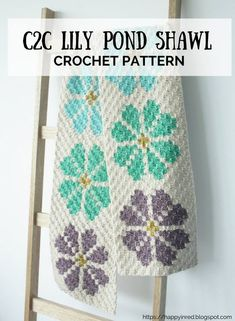 Looking for a crochet pattern (graphgan) to make a crochet shawl? Try the crochet pattern for the Lily Pond Shawl Knit Or Crochet, Crochet Shawl, Crochet Stitches, Crochet Patterns, Crochet Blankets, Crochet Wraps, Chrochet, Crochet Carpet, Crochet Gloves