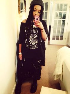 Alternative Mode, Alternative Fashion, Looks Style, My Style, Gothic Mode, Black Goth, Afro Punk, Gothic Outfits, Goth Girls