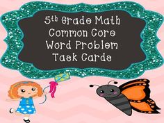 This product contains 16 Word Problem Task Cards that cover the Common Core Standards 5.NBT.5, 5.NBT.6, and 5.NBT.7.This product also contains an Answer Sheet and Answer Key for students to use.This product would be great for extra test prep in small groups, rotations, or independent seat work.