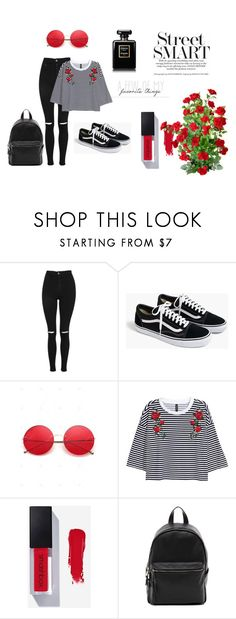 """""""Roses Fashion"""" by nikus10030 on Polyvore featuring Topshop, J.Crew, French Connection and Chanel"""