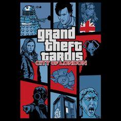 Grand Theft Tardis