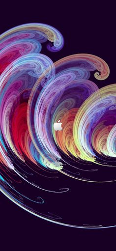 Apple Logo Wallpaper, Iphone 11, Backgrounds, Waves, Wallpapers, Wallpaper, Ocean Waves, Backdrops, Beach Waves