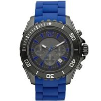 MK8233 MICHAEL KORS Men's Watch Drake Chronograph Blue 48mm