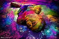 Life must be colour full....