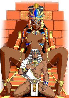 Egyptian Goddess by Samael1103