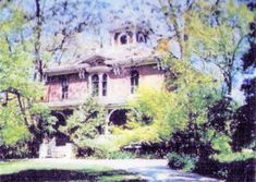 Historical Pictures, Mansions, House Styles, Painting, Art, Art Background, Manor Houses, Villas, Painting Art