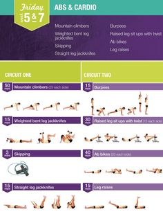Abs and Cardio Workout | Posted By: CustomWeightLossProgram.com