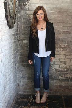 Karla Textured Greylin Jacket – Maude
