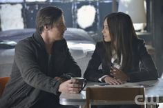 """Beauty and the Beast -- """"Any Means Possible"""" -- Pictured (L-R): Jay Ryan as Vincent and Kristin Kreuk as Catherine -- Image Number: BB114a_0061b.jpg — Photo: Ben Mark Holzberg/The CW -- © 2013 The CW Network, LLC. All rights reserved."""
